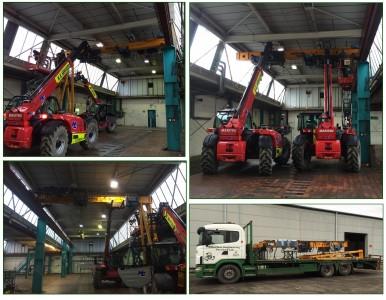 Overhead Crane Removal Service