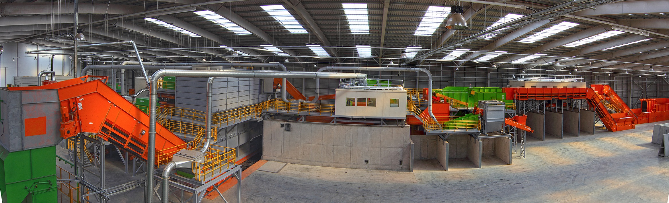 Industrial Machinery Installation by EES Ltd : Single Stream Recycling Plant Installation